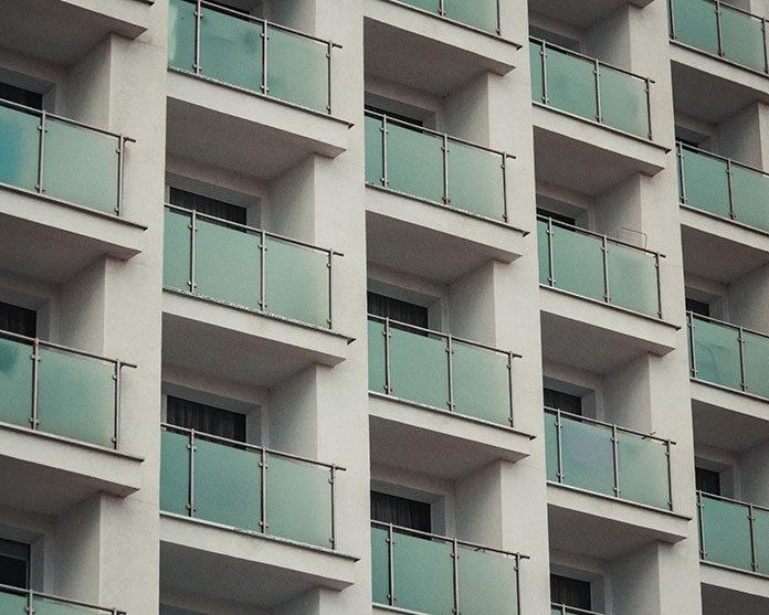 Osłona na balkonie